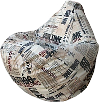 Бескаркасное кресло Flagman Груша Макси Г2.4-90 (bon journee) -