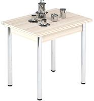 Обеденный стол Импэкс Leset Лиль 1Р (металл хром/дуб) -