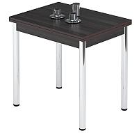 Обеденный стол Импэкс Leset Марсель 1Р (металл хром/венге) -