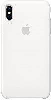Чехол-накладка Apple Silicone Case для iPhone XS Max White / MRWF2 -