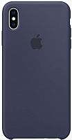 Чехол-накладка Apple Silicone Case для iPhone XS Max Midnight Blue / MRWG2 -