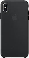 Чехол-накладка Apple Silicone Case для iPhone XS Max Black / MRWE2 -