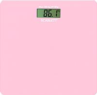 Напольные весы электронные Scarlett SC-BS33E041 (розовый) -