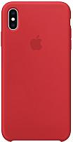Чехол-накладка Apple Silicone Case для iPhone XS Max (PRODUCT)RED / MRWH2 -