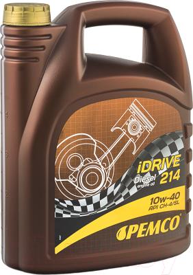 Моторное масло Pemco iDRIVE 214 10W40 CH-4/SL / PM0214-5 (5л)