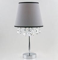 Прикроватная лампа Евросвет Opera 01036/1 (хром/прозрачный хрусталь) -