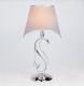 Прикроватная лампа Евросвет Kelly 01053/1 (хром/прозрачный хрусталь) -