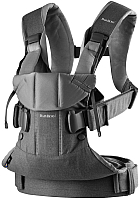 Сумка-кенгуру BabyBjorn One Cotton Mix 0980.94 (dark grey) -