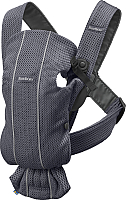 Сумка-кенгуру BabyBjorn Mini 3D Mesh 0210.13 (anthracite) -