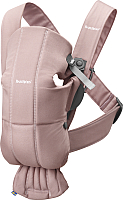 Сумка-кенгуру BabyBjorn Mini Cotton 0210.14 (dusty pink) -