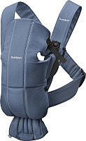 Сумка-кенгуру BabyBjorn Mini Cotton 0210.74 (vintage indigo) -