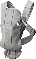 Сумка-кенгуру BabyBjorn Mini 3D Jersey 0210.72 (light grey) -