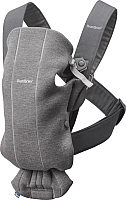 Сумка-кенгуру BabyBjorn Mini 3D Jersey 0210.84 (dark grey) -