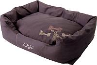 Лежанка для животных Rogz Spice Pod / RPPMCE (M, mocha bone) -