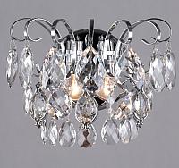 Бра Евросвет Crystal 10081/2 (хром/прозрачный хрусталь) -