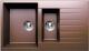 Мойка кухонная Tolero R-118 (коричневый) -