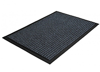 Коврик грязезащитный Kovroff Стандарт ребристый 50x80 / 20202 (серый) -
