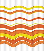 Шторка-занавеска для ванны LEMARK Groovy Orange C2420T051 -