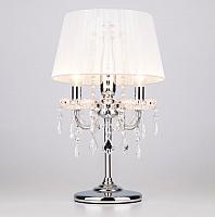 Прикроватная лампа Евросвет Allata 2045/3T (хром/белый) -