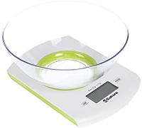 Кухонные весы Sakura SA-6068G (белый/зеленый) -