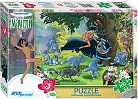 Пазл Step Puzzle Маугли на охоте / 72064 (160эл) -