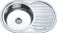 Мойка кухонная РМС MD8-7750OVL -