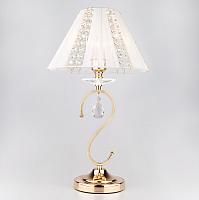 Прикроватная лампа Евросвет Alexis 3419/1Т (золото/белый) -