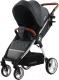 Детская прогулочная коляска Carrello Milano CRL-5501 (solid grey) -