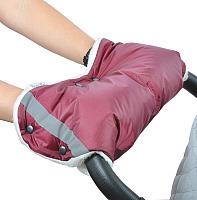 Муфта для коляски Bambola 053В (бордовый) -
