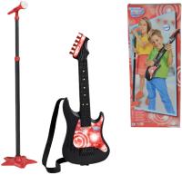 Музыкальная игрушка Simba Гитара с микрофоном / 106833223 -