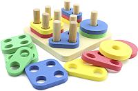 Развивающая игрушка МДИ Логический квадрат / Д020 -