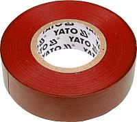 Изолента Yato YT-8166 (красный) -