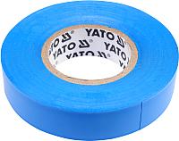 Изолента Yato YT-81591 (синий) -