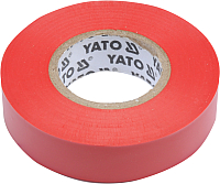 Изолента Yato YT-81592 (красный) -