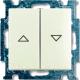 Выключатель ABB Basic 55 1413-0-1102 (шале-белый) -