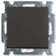 Выключатель ABB Basic 55 1413-0-1095 (шато-черный) -