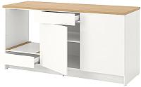 Шкаф-стол комбинированный Ikea Кноксхульт 303.485.27 -