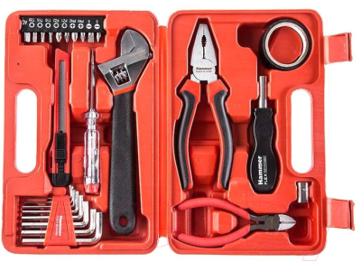 Универсальный набор инструментов Hammer Flex 601-040 -