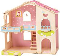 Кукольный домик Woody Счастливая семья / 02277 -