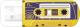 Usb flash накопитель Verbatim Mini Cassete Edition 16Gb / 49399 (желтый) -