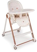 Стульчик для кормления Happy Baby Berny V2 (молочный) -