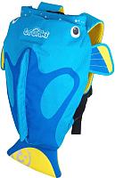 Детский рюкзак Trunki Коралловая рыбка / 0173-GB01 (голубой) -