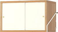Шкаф Ikea Свальнэс 303.592.43 -