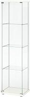 Шкаф-пенал с витриной Ikea Детольф 303.833.61 -