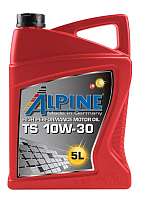 Моторное масло ALPINE TS 10W30 / 0100112 (5л) -