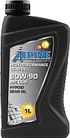 Трансмиссионное масло ALPINE Gear Oil 80W90 GL-5 / 0100701 (1л) -