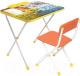 Комплект мебели с детским столом Ника Д2Ф2 Феи. Тайны зимнего леса -