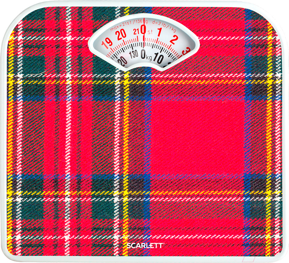 Купить Напольные весы механические Scarlett, SC-BS33M042, Китай