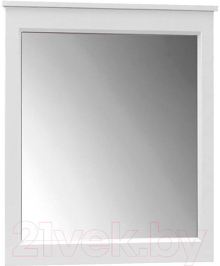 Купить Зеркало для ванной Belux, Болонья В70 (18, белый матовый), Беларусь