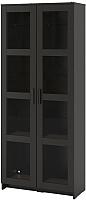 Шкаф с витриной Ikea Бримнэс 504.098.88 -